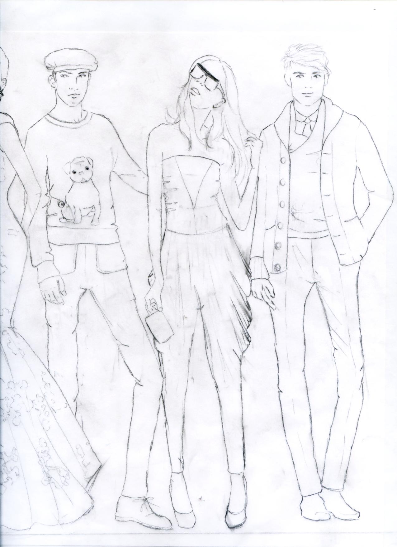 Drawing Fashion Figures...