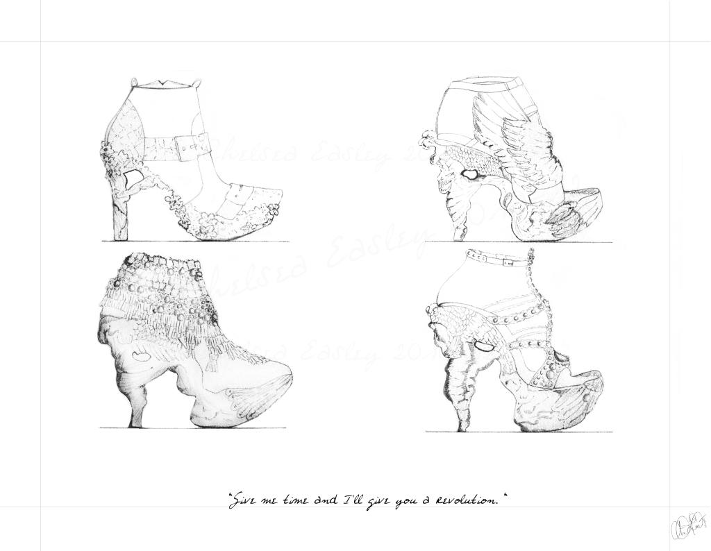 Alexander McQueen: The Shoes – Revisited! (epic procrastination anniversarymonth)